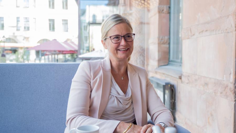 Maria Paulsson, CEO Grand hotel Lund