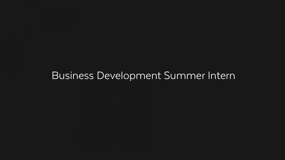businessdevelopmentsummerintern